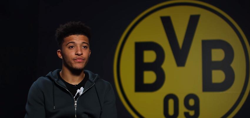 Bundesliga: Jadon Sancho zostanie w klubie, jeśli rozpocznie przygotowania z zespołem
