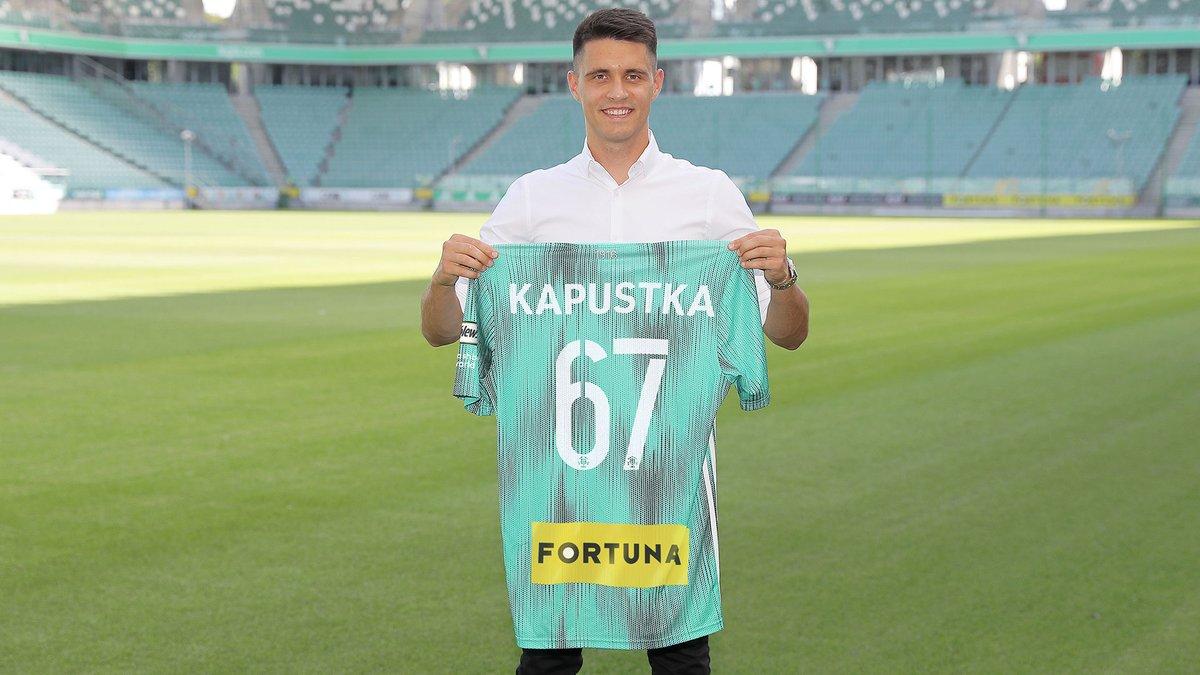 Liga Mistrzów: Legia nie znalazła szczęścia w Kapustce