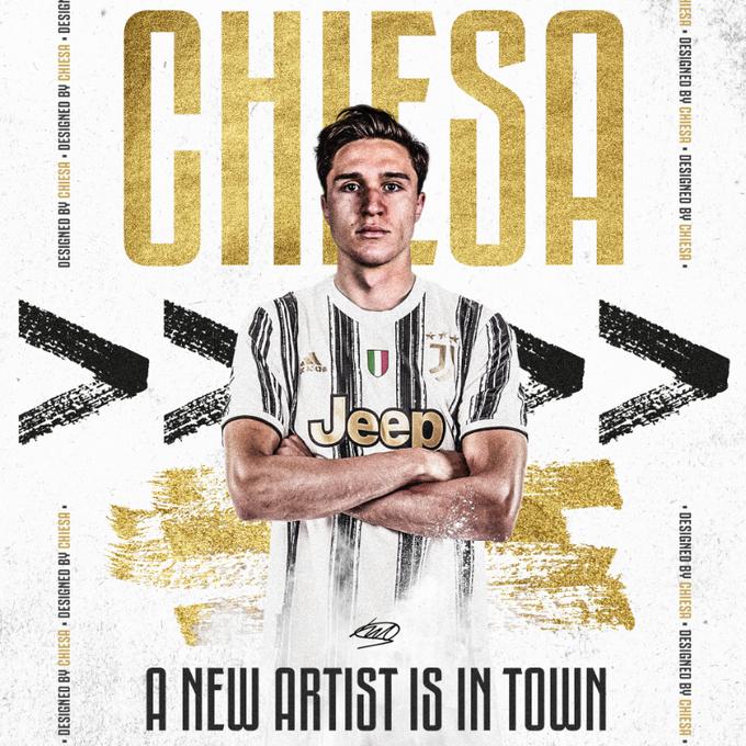 Federico Chiesa piłkarzem Juventusu